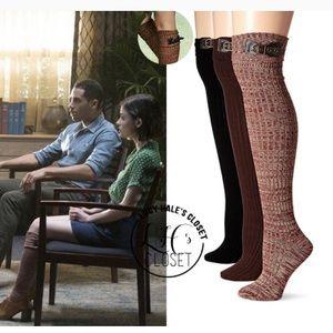 Muk luk knee high socks